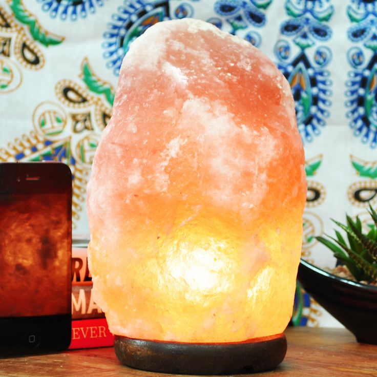 Hamalayan Salt Lamps All Natural Himalayan Crystal Rock Lamp is an amazing addition to your home or office. When turned on it gives off an amazing soft amber glow and creates a soothing atmosphere. Si