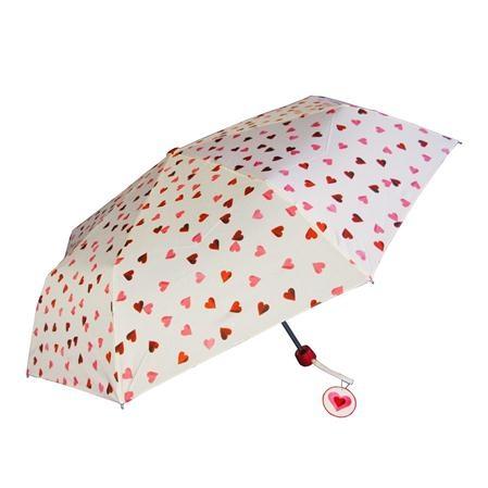 Emma Bridgewater Hearts Small Telescopic Umbrella & Case