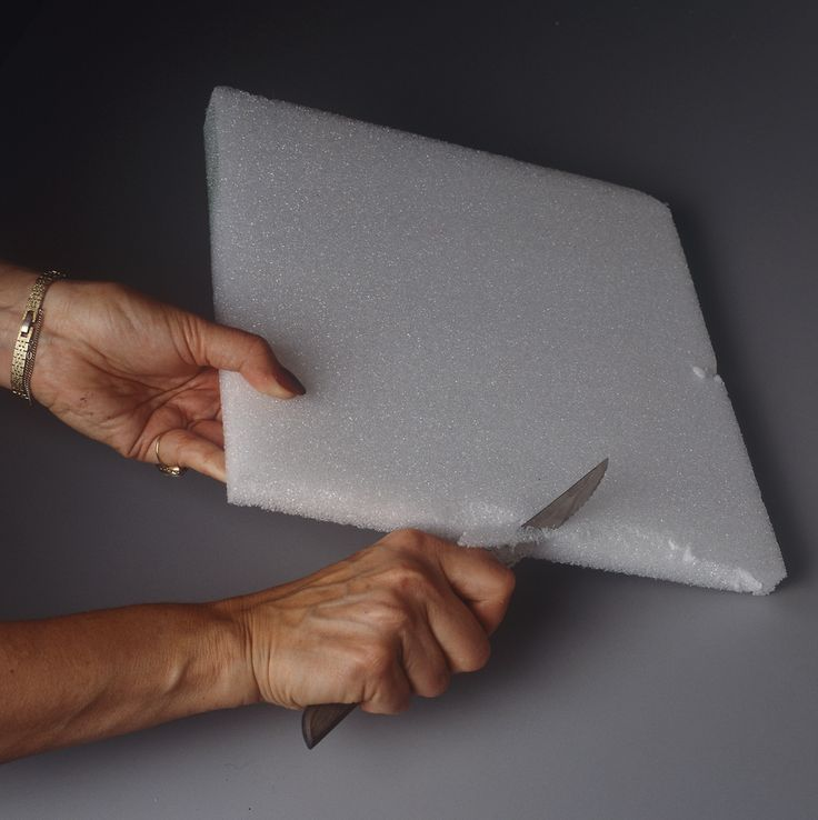 How to cut styrofoam