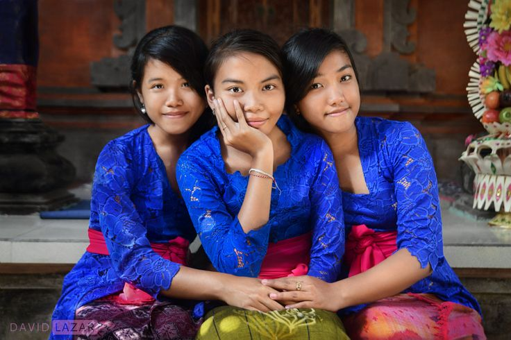 Bali Aga wedding maidens. Transform  your photography forever w/ David Lazar on his Bali Photo Tour, May 1 - 14, 2015.