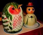 decorazioni frutta intagliata - Bing Immagini