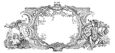 Free Vintage Clip Art - Gorgeous French Frame Engraving - The Graphics Fairy