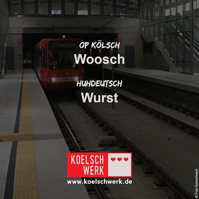 #koelschwerk #mingsproch #cologne #köln #kölsch #woosch #wurst #höhner #blootwoosch #blutwurst  Blootwoosch, Kölsch un e lecker....