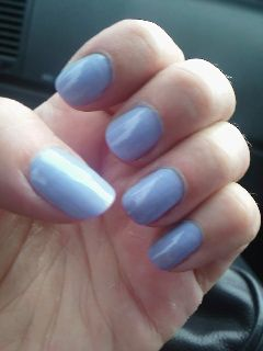 My new favourite colour. OPI  You're Such A Budapest.