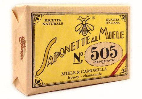 Nature incarnate in a soap. Alighiero Campostrini Saponette al Miele   $12