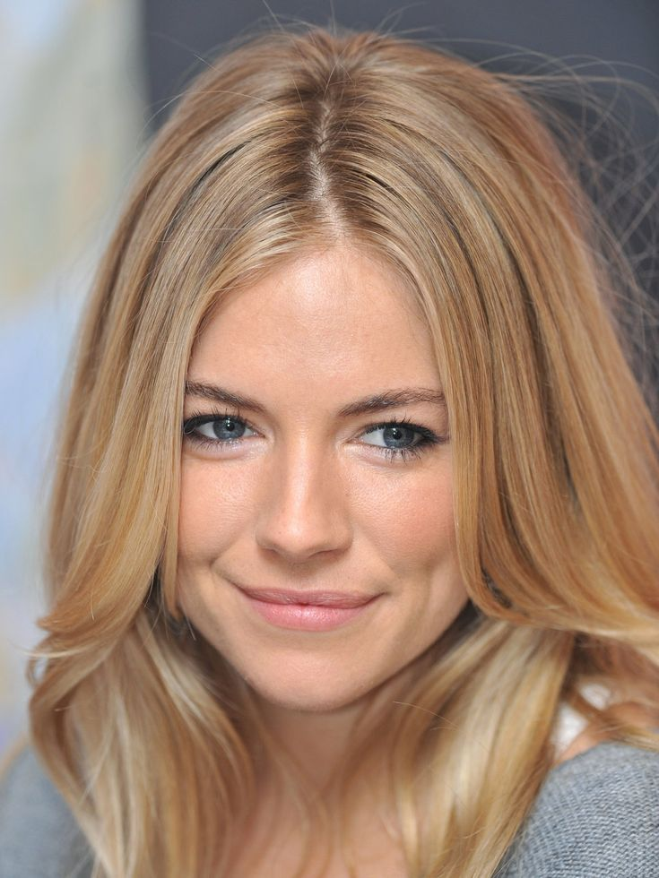 Sienna Miller ... this hair color is to die for