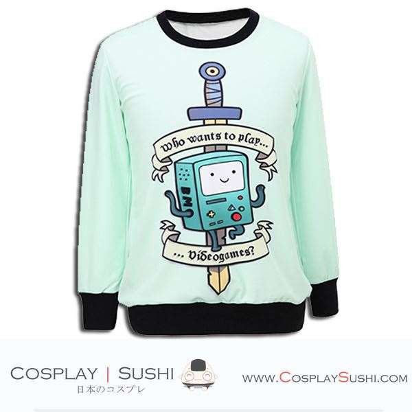 Grab our NEW BMO Sweater! SHOP NOW ► http://bit.ly/1Qu4Gcn Follow Cosplay Sushi for more cosplay ideas! #cosplaysushi #cosplay #anime #otaku #cool #cosplayer #cute #kawaii #AdventureTime #BMO #Sweater #Jacket #fashion