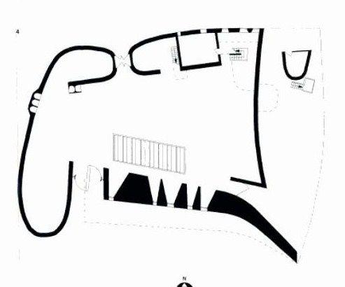 Le Corbusier – Kaplica Nôtre Dame do Haut w Ronachamp plan