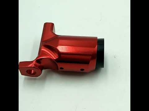 China supply Red anodized aluminum turning rotary tattoo machine parts #Tottoopart #Chinatattoopart #TattooMachinePart #Cncparts #CNCPrecisionMillingPartAluminumAlloyRedAnodized   E-mail: dgchuanghe@gmail.com Tel:008618607694667