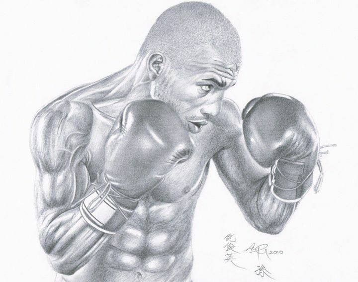 Boxing: Miguel Cotto Drawing | Box pinups & sketches | Pinterest