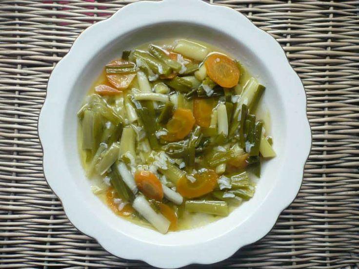 Taze Sarımsak Yemeği                        -  Sibel Göktürk #yemekmutfak