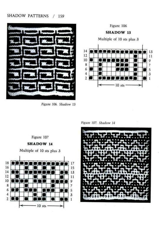 Mosaic Knitting Barbara G. Walker (Lenivii gakkard) Mosaic Knitting Barbara G. Walker (Lenivii gakkard) #164