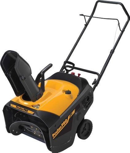 Poulan Pro PR521 21-Inch 136cc Single Stage Electric Start Snow Thrower