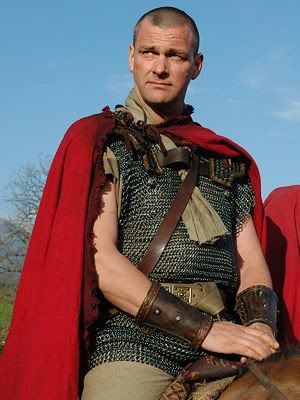 Ray Stevenson as Titus Pullo on 'Rome'.  One of the best character performances I've ever seen. LOVE Pullo.