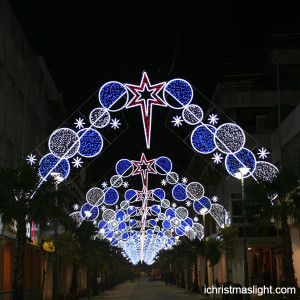 Commercial christmas decoration for street   iChristmasLight
