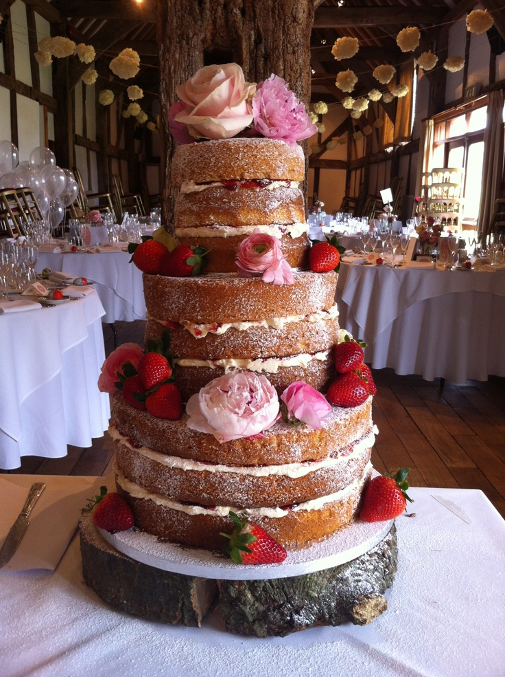 3 Tier 9 Sponge Victoria Sandwich Wedding Cake My First One