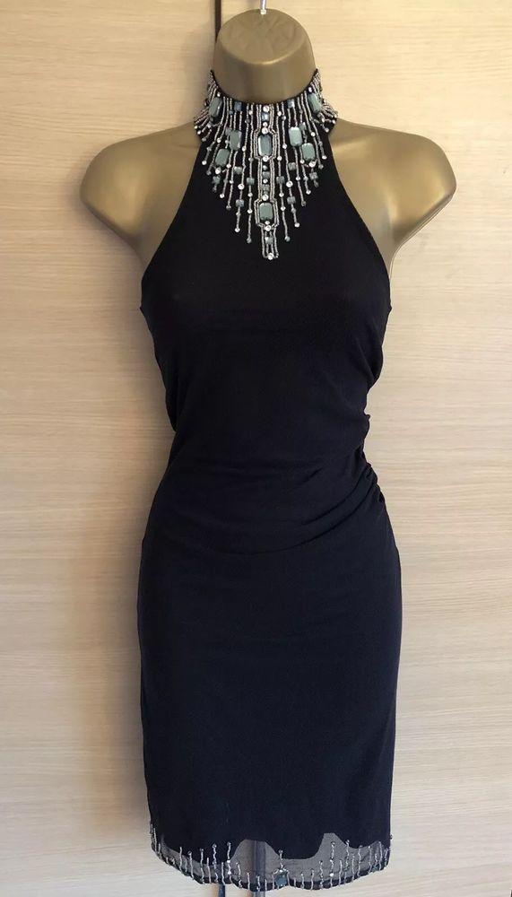 9e40cb41a111 Exquisite Karen Millen Black Jewelled Mesh Stretch Dress UK8 Stunning  #fashion #clothing #shoes #accessories #womensclothing #dresses (ebay link)