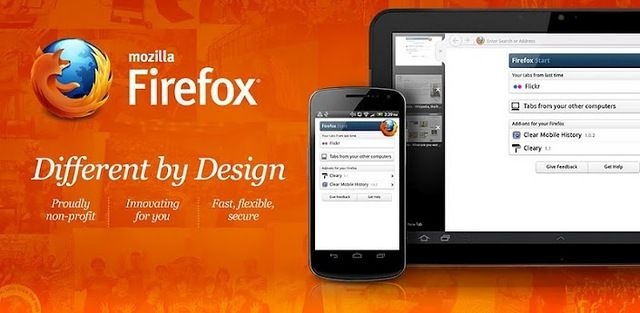 Mozilla Firefox App for Android The power of open web is