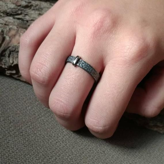 Details about  /Cross Sterling Silve Ring-Cross Band Ring-925 Solid Sterling Silver-Oxidized
