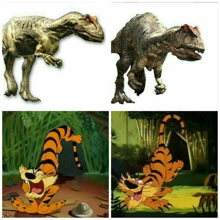 Dinosaur tiger