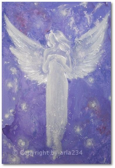 Limited angel art photo guardian angel  modern by HenriettesART, €10.00