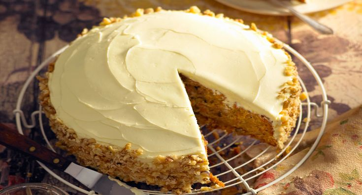 This delicious carrot cake will be a hit with the entire family... try to stop at having just one slice