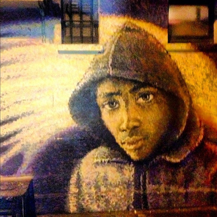 Boy in a hood, Whitby Street