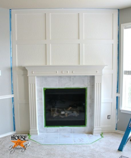 Clean Millwork Detail To Accent Fireplace To Complement