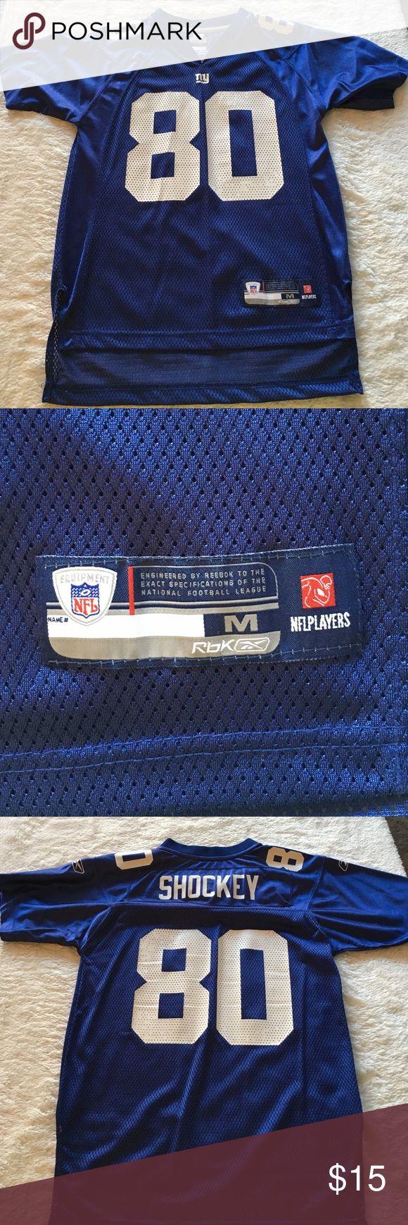 NY Giants Women's jersey Fitted NY Giants jersey. Jeremy Shockey, #80 Reebok Tops Tees - Short Sleeve