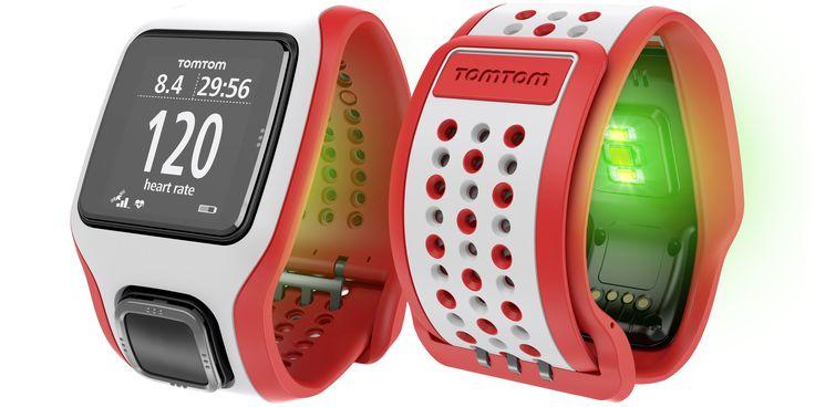 montre tomtom runner cardio avec cardio fréquencemètre intégré sans bande. 300$