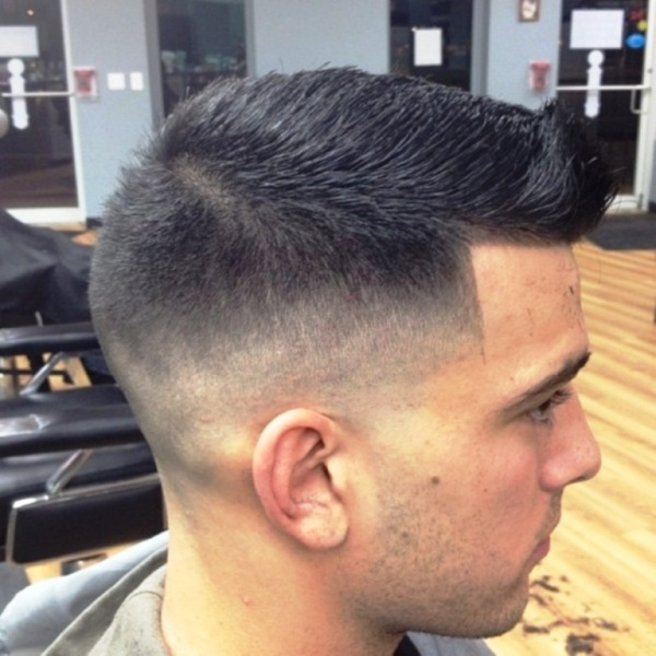Pictures of Faux Hawk Taper Fade Haircut - #rock-cafe