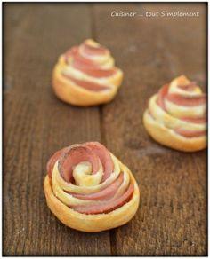 Petites Fleurs pour l'Apéro - Cuisiner... tout Simplement, Le Blog de cuisine de Nathalie: