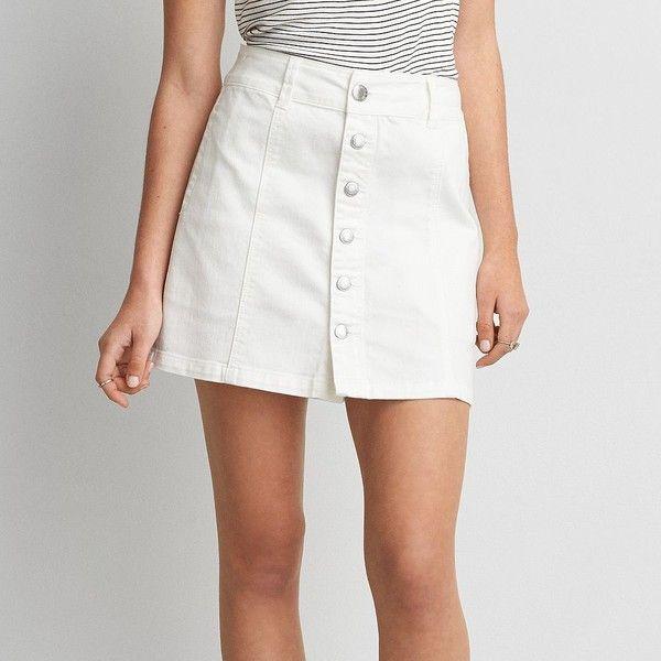 17 best ideas about White Denim Skirt on Pinterest | White denim ...