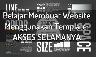 Cara Membuat Website Sendiri Gratis Template