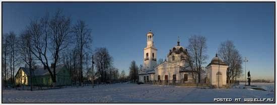 Церковь Св. благоверного князя Александра Невского в Усть-Ижоре (Санкт-Петербург)