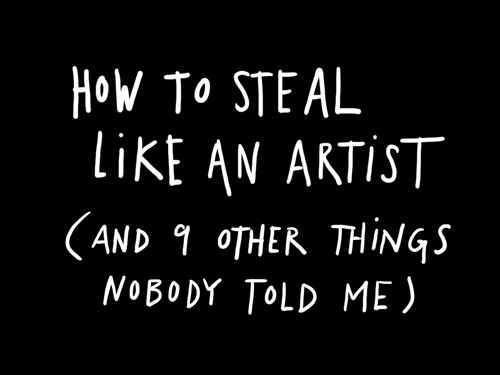 everyone go here and read this now. please. you won't regret it. #artist #life #lessons