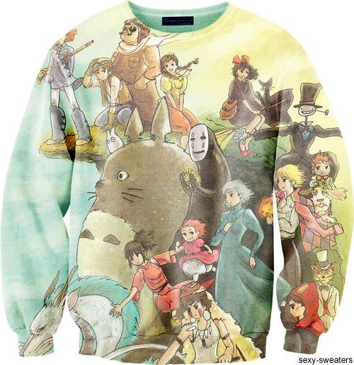 Studio Ghibli Jumper :*