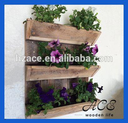 cassa di legno nautral pianta in vaso di legno scatola fioriera muro per il fiore-immagine-Artigianato in legno-Id prodotto:1918462471-italian.alibaba.com