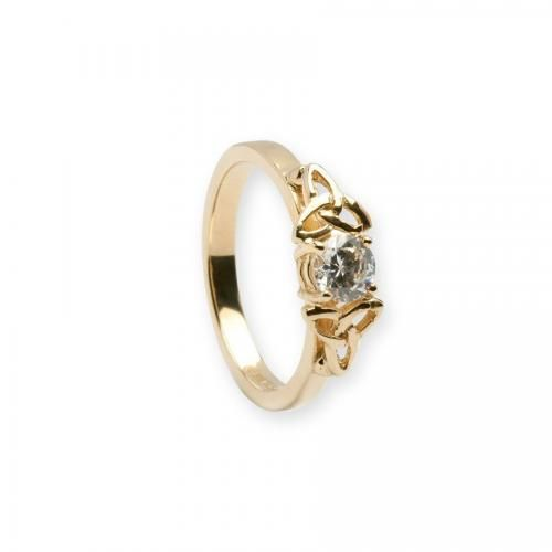 The One Engagement Ring-14K Gold
