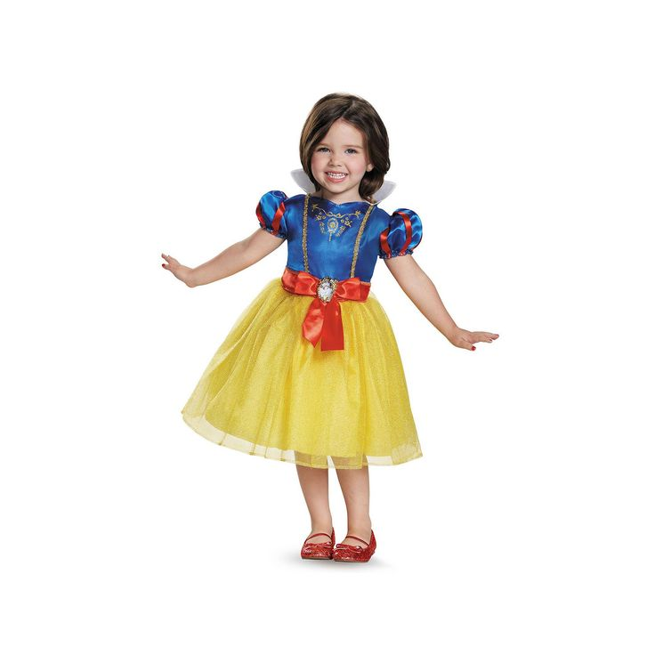 Disney's Snow White Costume - Kids, Girl's, Size: 4-6X, Multicolor
