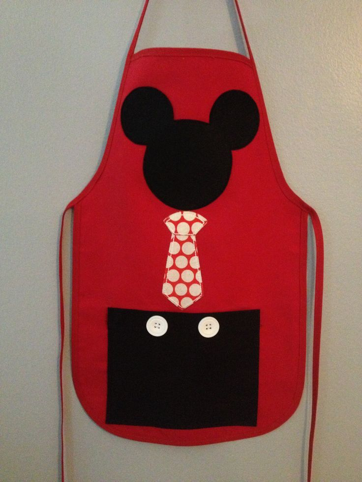 Mickey Mouse apron. SOLD