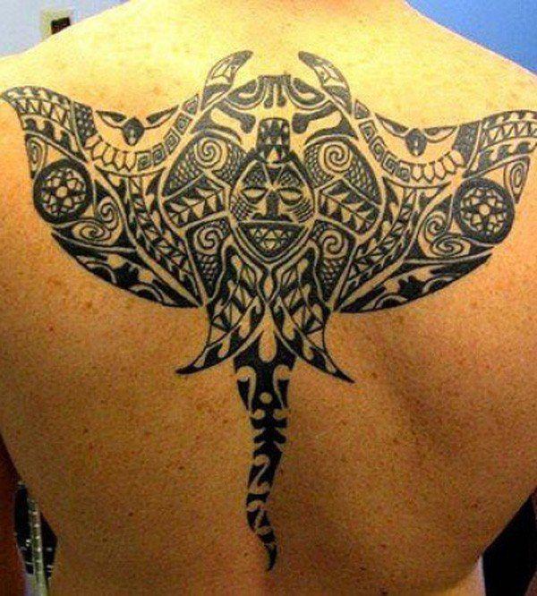 828ee687675c1 Meet the Rays - Impressive Polynesian Tattoos | Tattoo Art | Marquesan  tattoos, Ray tattoo, Manta ray tattoos
