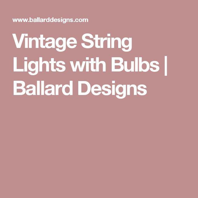 Best 25+ Vintage string lights ideas on Pinterest Patio lighting, Backyard lights diy and Best ...