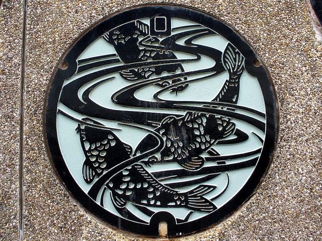 Manhole covers in Japan. A beautiful collection of photos. I would be first in line to buy this if they make a book!