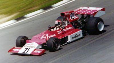 1974 Arturo Merzario, Williams FW03 Ford