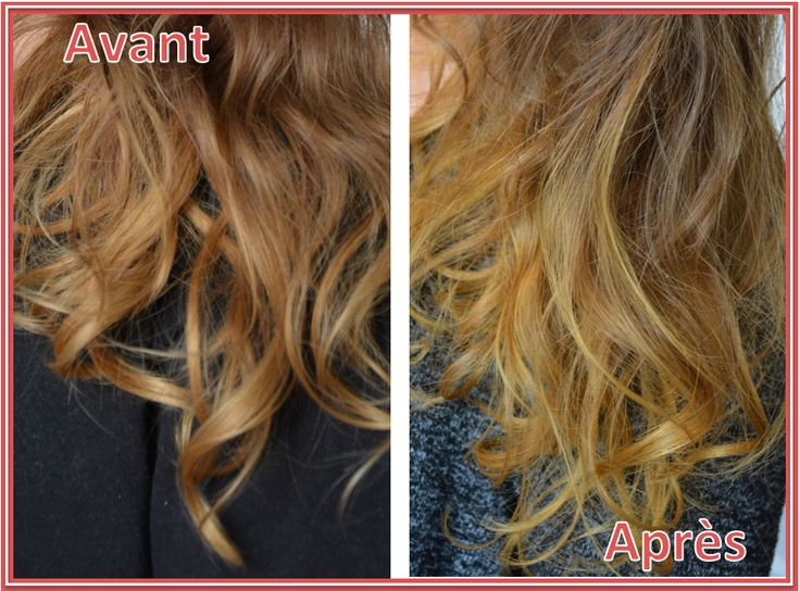 avant apres henn blond aromazone - Coloration Henn Blond