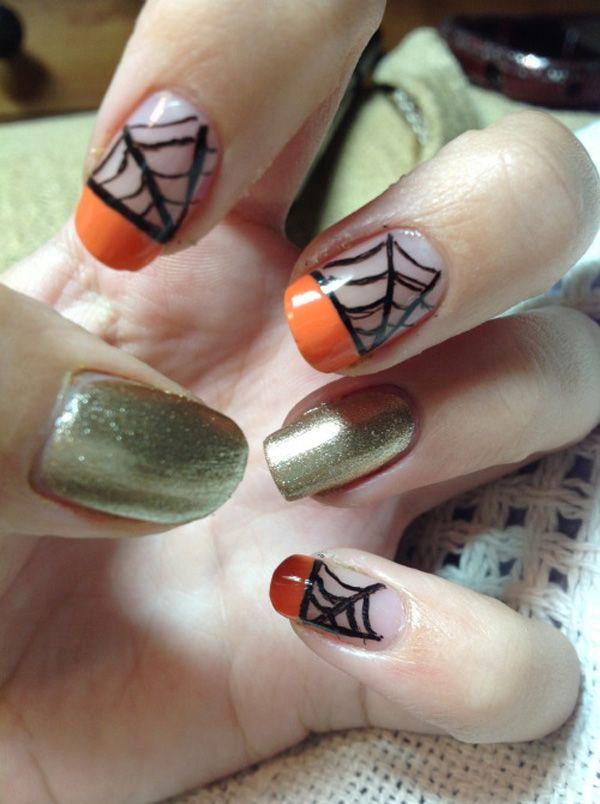 48 best halloween nails images on pinterest nail scissors 65 halloween nail art ideas prinsesfo Choice Image