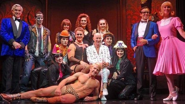 The cast of the Rocky Horror Show in Brisbane. - SUCH A GOOD PRODUCTION!!! <3 #rockyhorrorshow