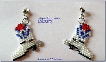 Cowboy Boot earrings for Alyssa