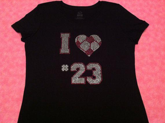 Custom Number Soccer Mom Rhinestone TShirt...mine is #26!